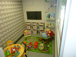 Children's Play Room at Volks Autos